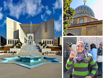 Supreme Court of Pakistan, Nasir al-Mulk Mosque in Iran, and an Egyptian voter